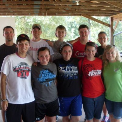 Northside Youth Group at Western Kentucky Youth Camp